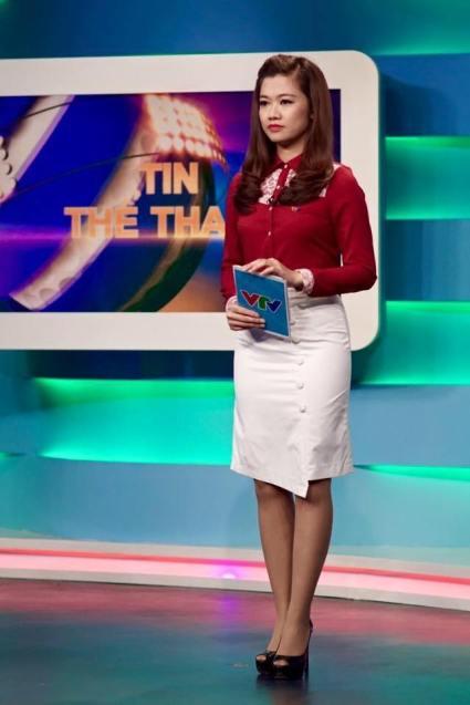 con be Le Thanh Huyen VTV