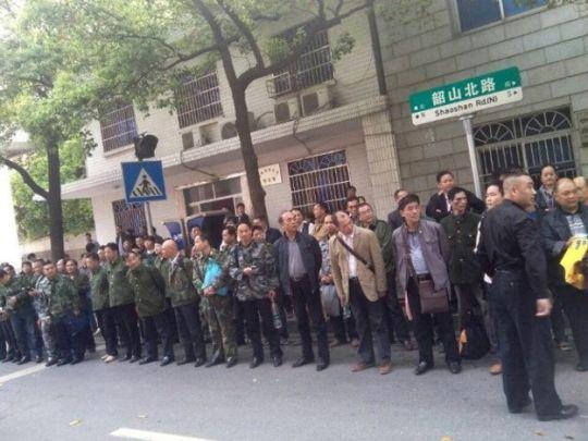 cuu binh TQ biểu tình 2
