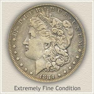 one dollar 1884